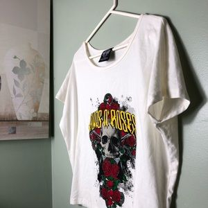 NWOT GUNS N' ROSES CROP TOP